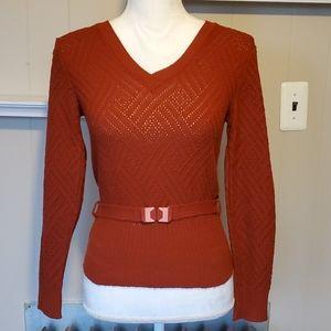 Vintage Belted Sweater Bronson CA